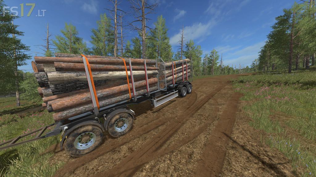 Log Trailer v 1 0 - FS17 mods