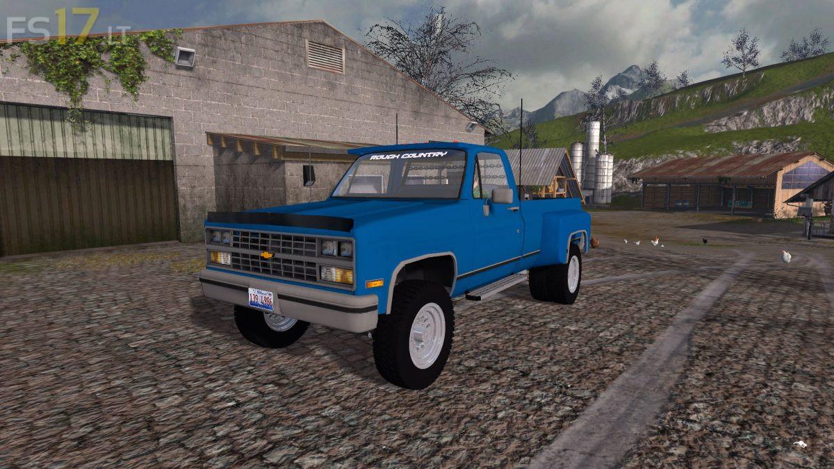1984 Chevy K30 v 1 0 - FS17 mods