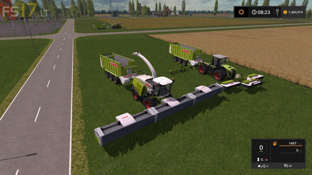 Claas Lexion Experimental Pack v 2 0 - FS17 mods