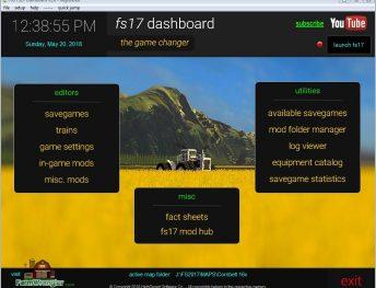 FS17 Dashboard v 2 8 - FS17 mods