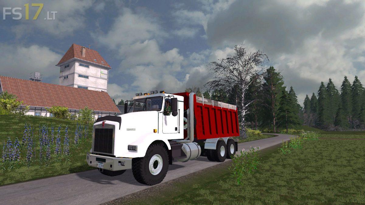 Kenworth Dump Truck v 1.0 - FS17 modsKenworth Dump Trucks Fs19