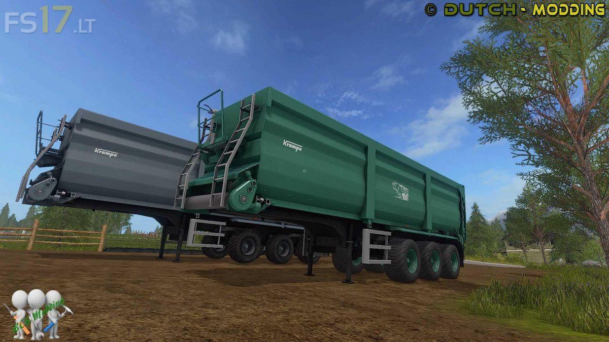 Krampe Bandit SB 30/60 v 2 0 - FS17 mods