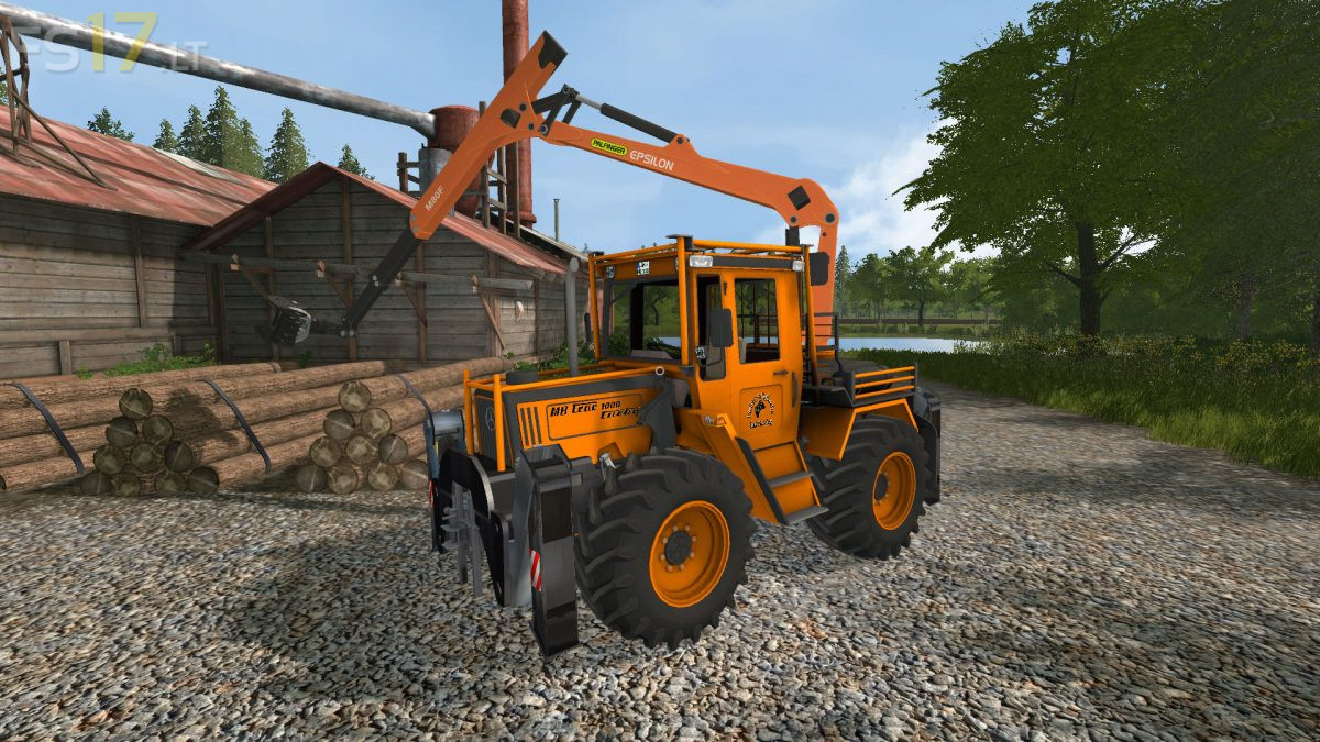 Gemeinsame MB Trac 1000 Turbo Forest v 1.0 - FS17 mods #MU_53