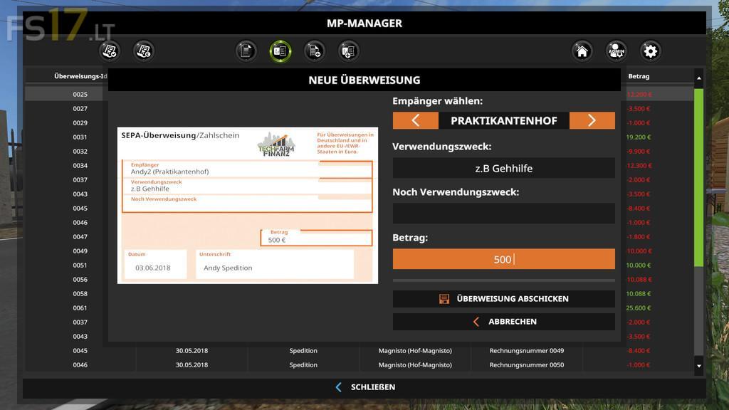 mod manager fs17