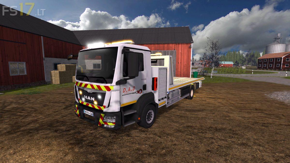 MAN TGM Tow Truck v 1 0 - FS17 mods