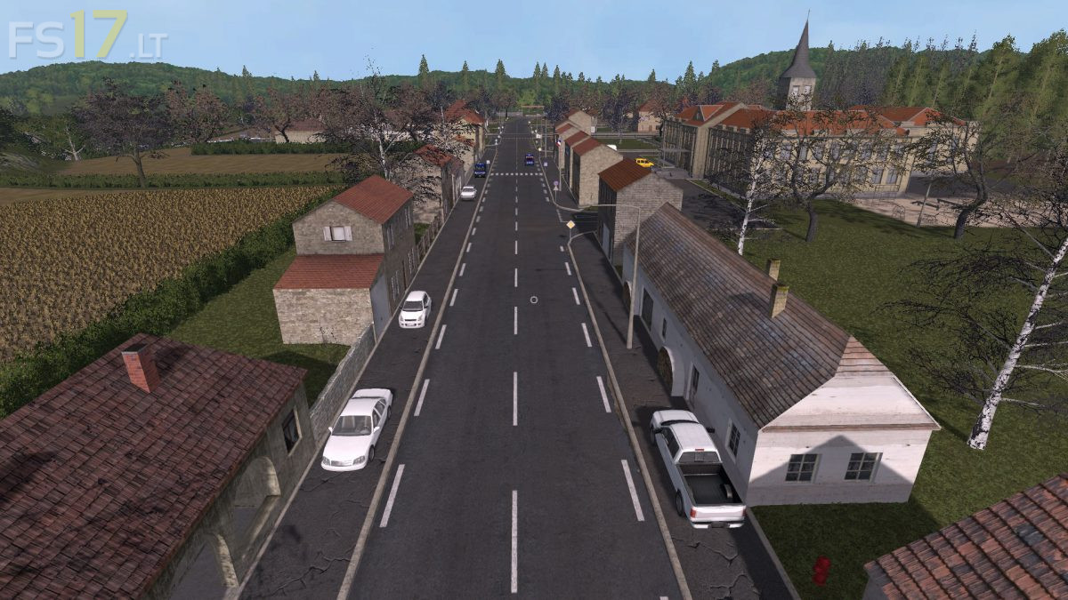 Plaines de France Map v 1 0 - FS17 mods