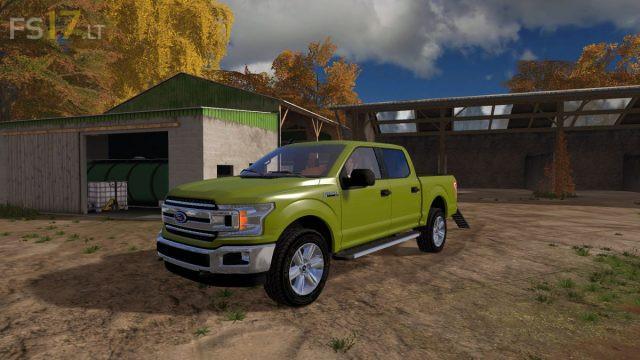 2018 Ford F150 XLT v 2 0 - FS17 mods