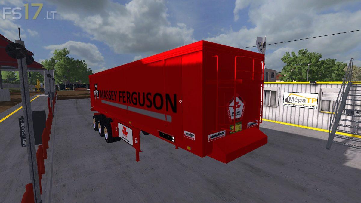 Kroeger Agroliner Massey Ferguson Edition Trailers Pack v