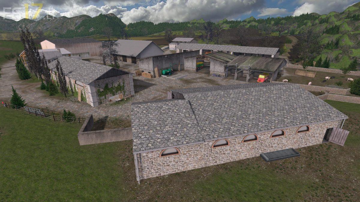 Old School Farm Map v 2.0 - FS17 mods