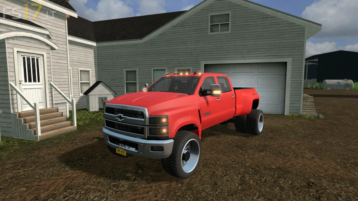 2019 Chevy 4500 Pickup v 1.0 - FS17 mods