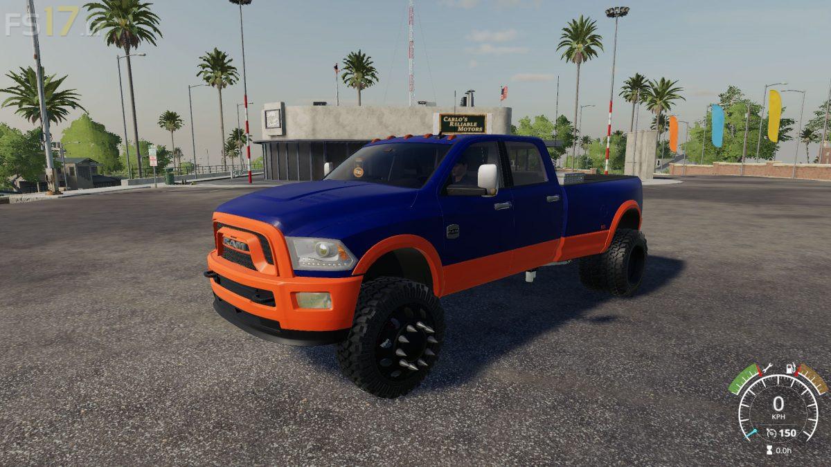 Dodge Ram 3500 v 1 0 - FS19 mods