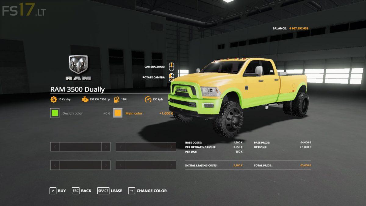 Ram 3500 Fs19 | 2019 Trucks