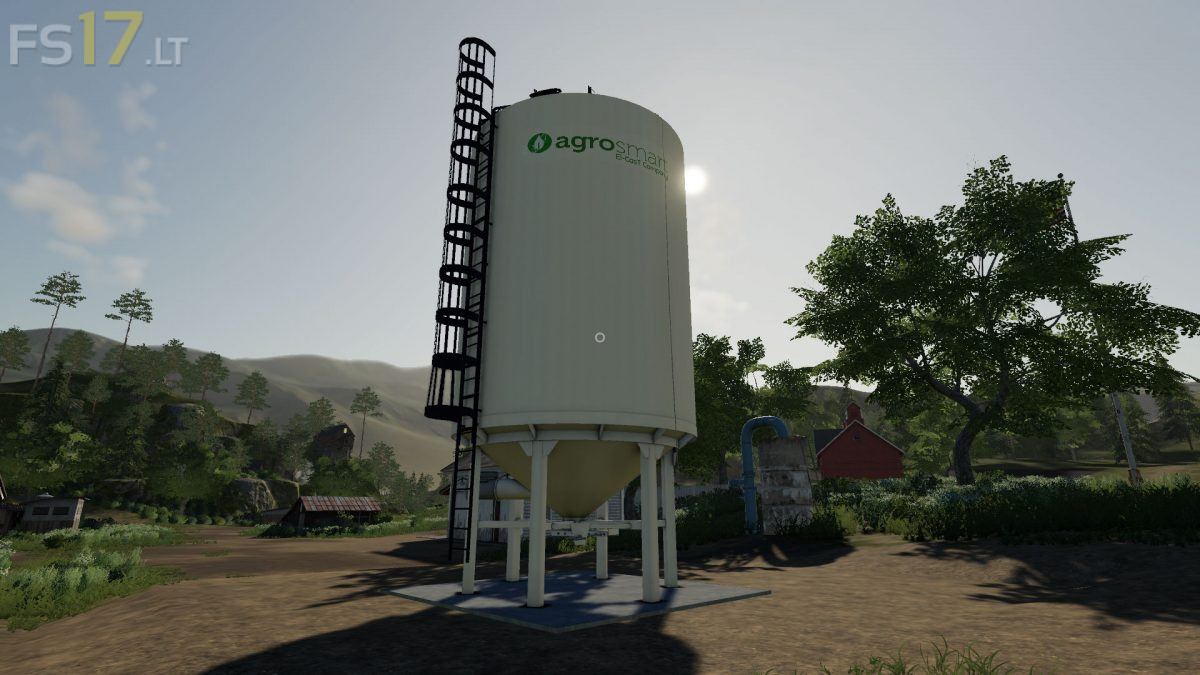 Placeable Fertilizer Silo v 1 0 - FS19 mods