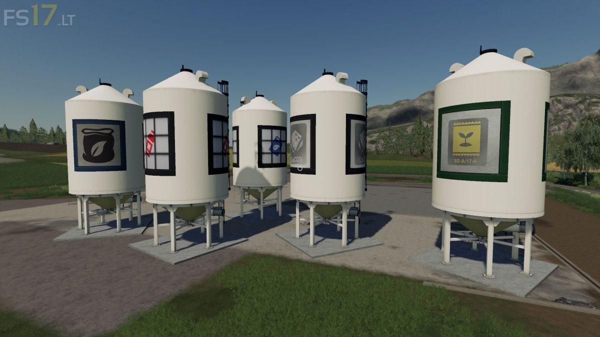 Placeable Filling Stations Pack V 1 3 Fs19 Mods