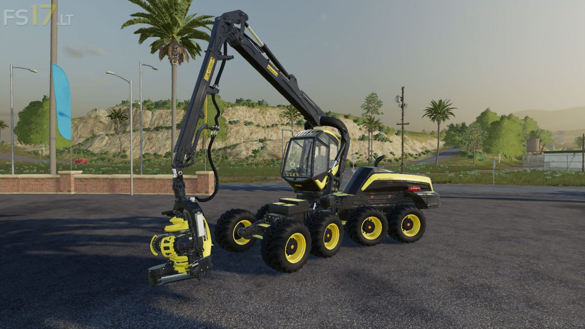 Ponsse Scorpion King v 1 0 - FS19 mods