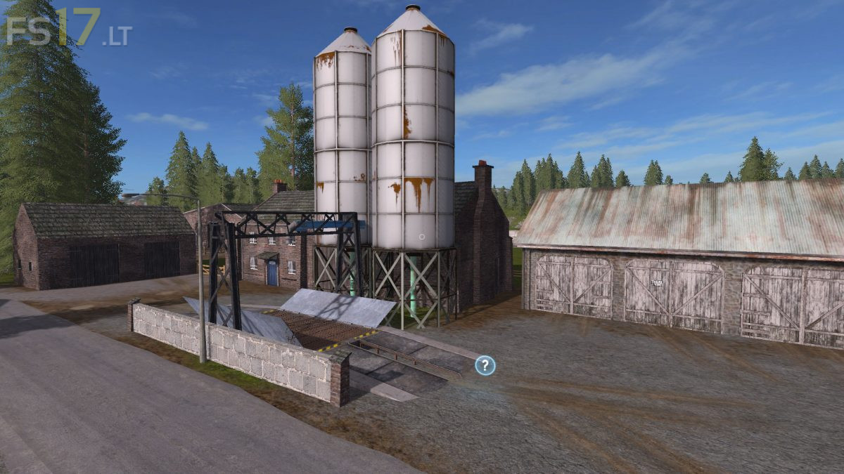 Valley Crest Farm 4x Map v 1 7 7 - FS17 mods