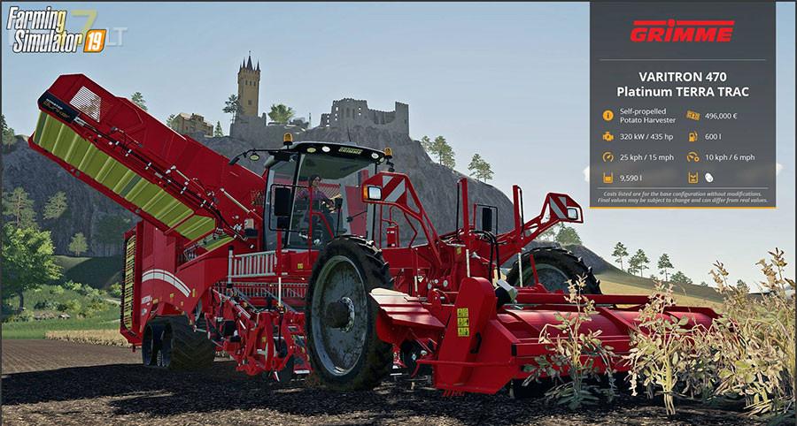 Farming Simulator 19 Harvesters - FS17 mods