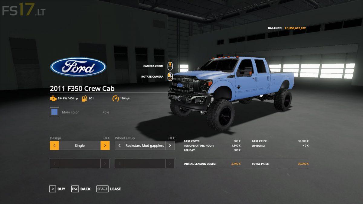 ford   crew cab   fs mods