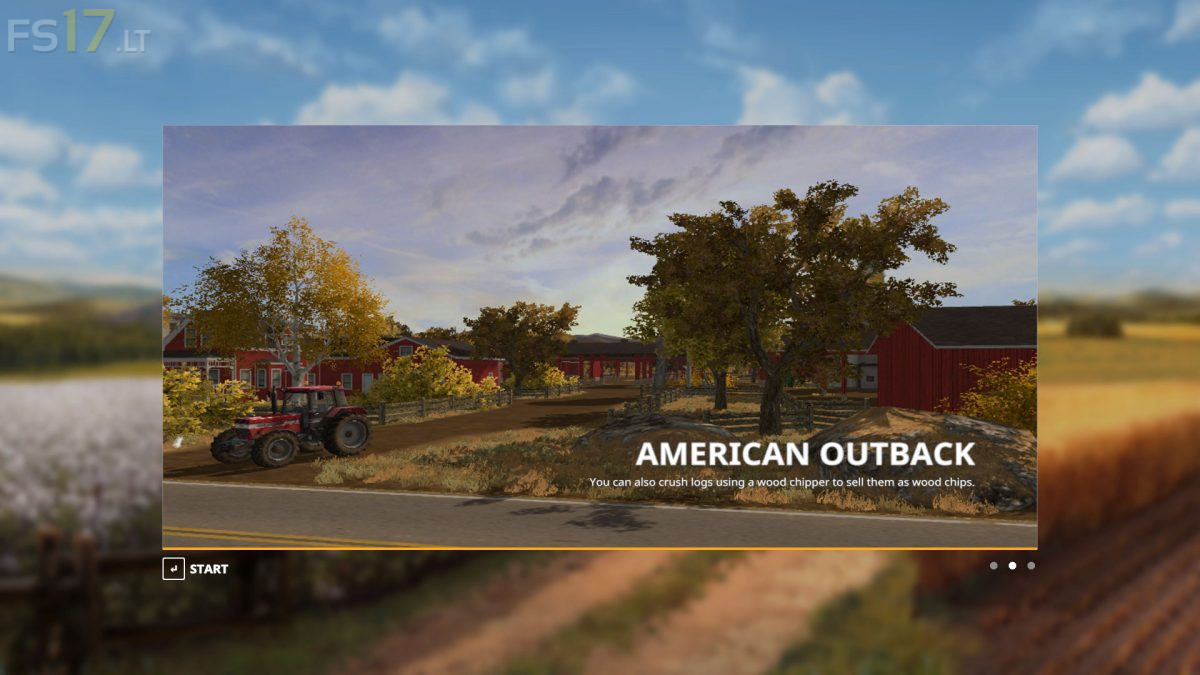 Cars Trucks And More >> American Outback Map v 3.0 - FS19 mods