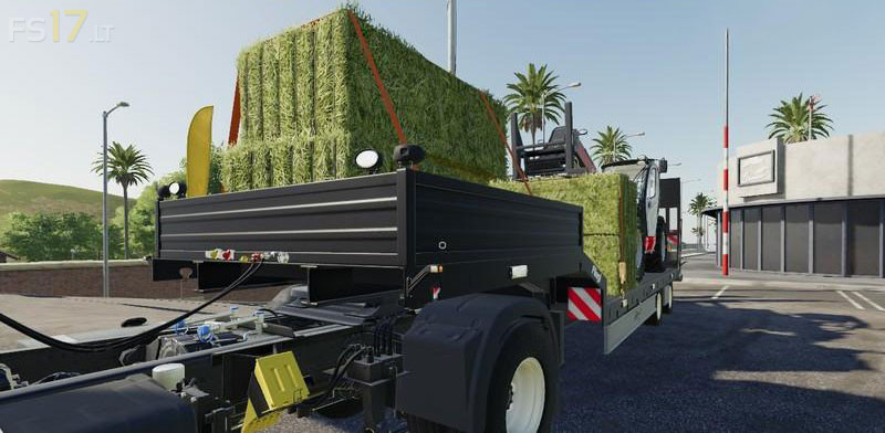 Fliegl Low Loader Trailer V 1 0 Fs19 Mods