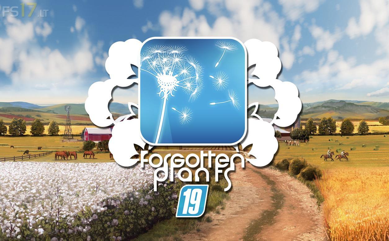 Forgotten Plants - Cotton v 1 0 - FS19 mods