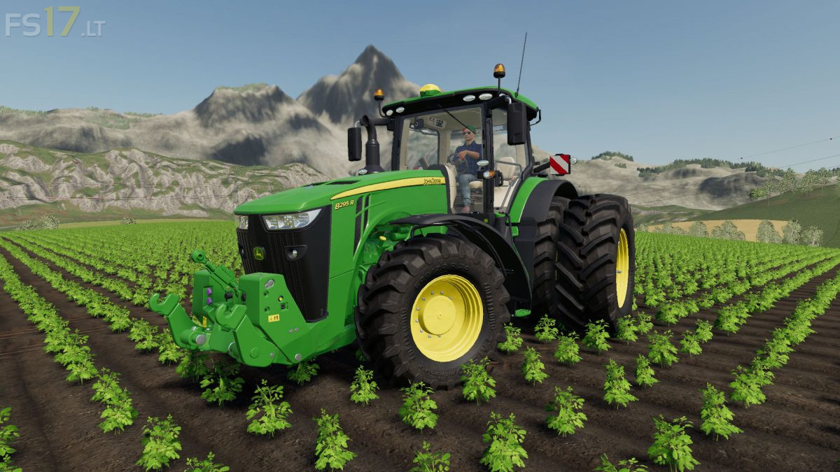 John Deere US Edition Tractors Pack v 1 0 - FS19 mods