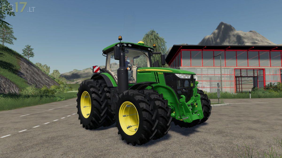 John Deere Us Edition Tractors Pack