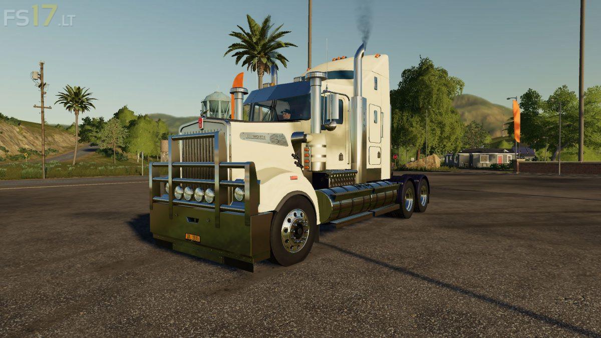 Kenworth T908 v 1.0 - FS19 modsKenworth Dump Trucks Fs19