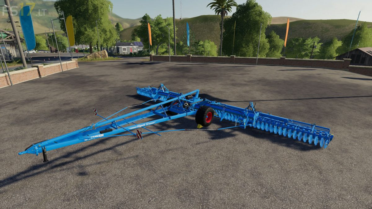 Lemken Gigant 12 S 1600 v 1 1 - FS19 mods