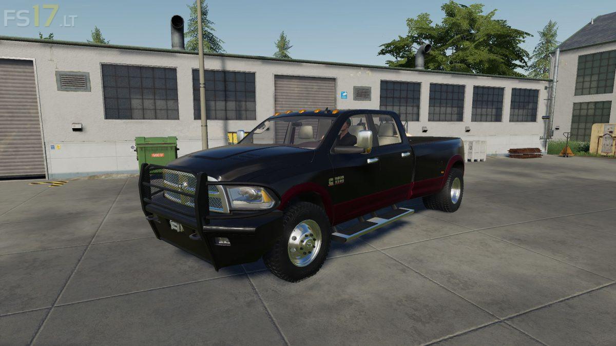 Dodge Ram 3500 Flatbed V 1 0 Fs19 Mods