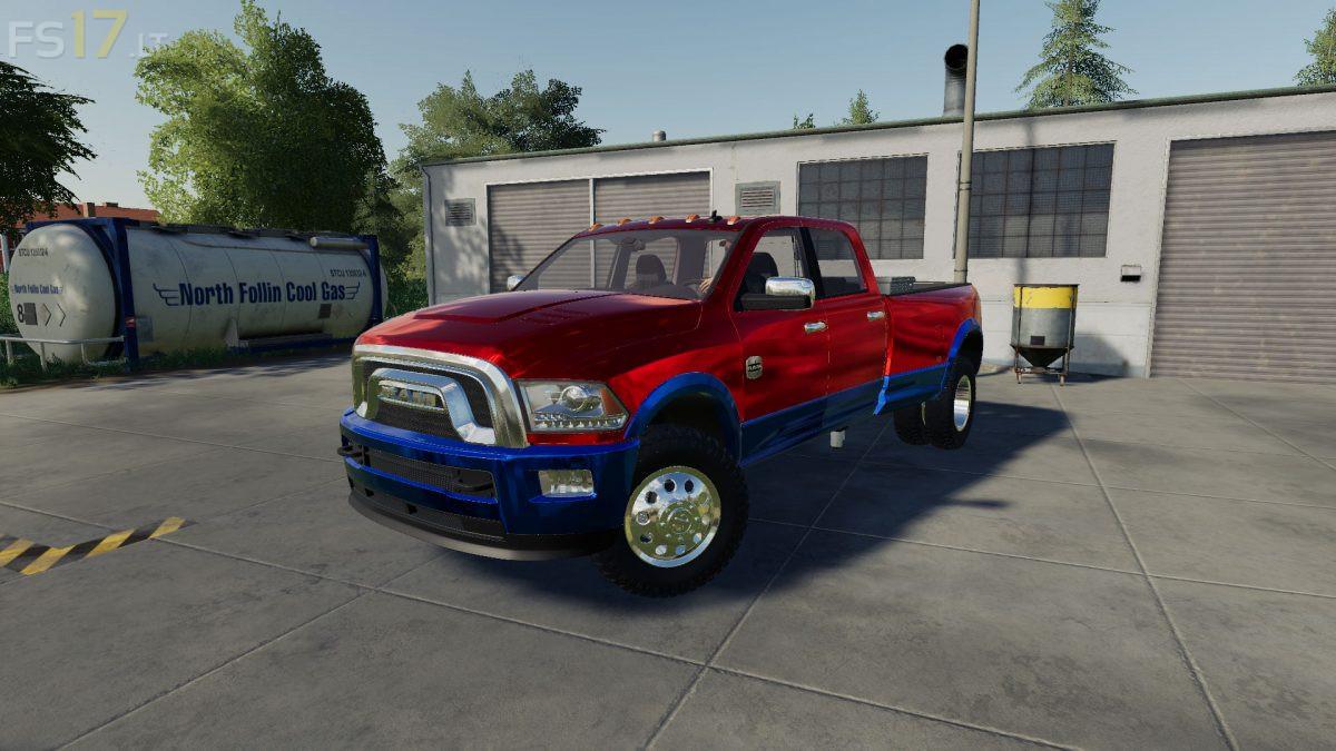 Dodge Ram 3500 Heavy Duty V 1 0 Fs19 Mods