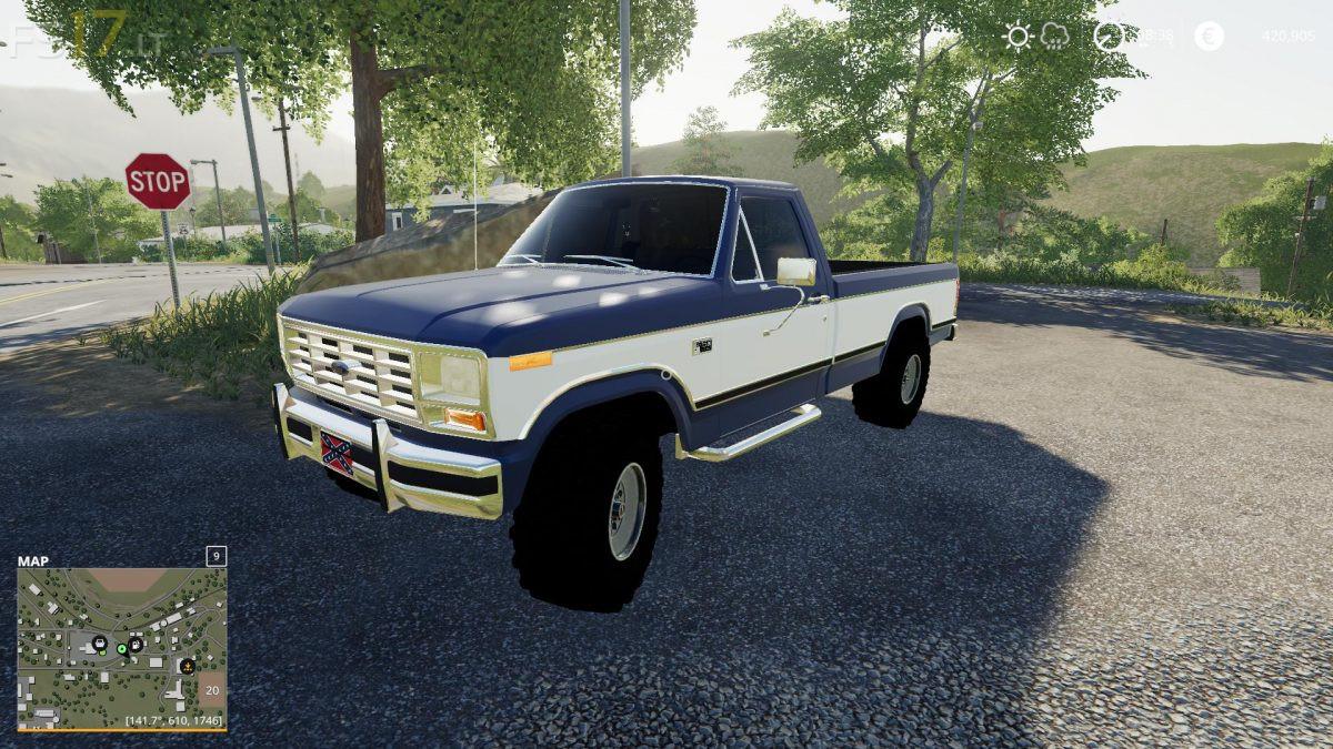 1985 Ford F-150 v 1 0 - FS19 mods