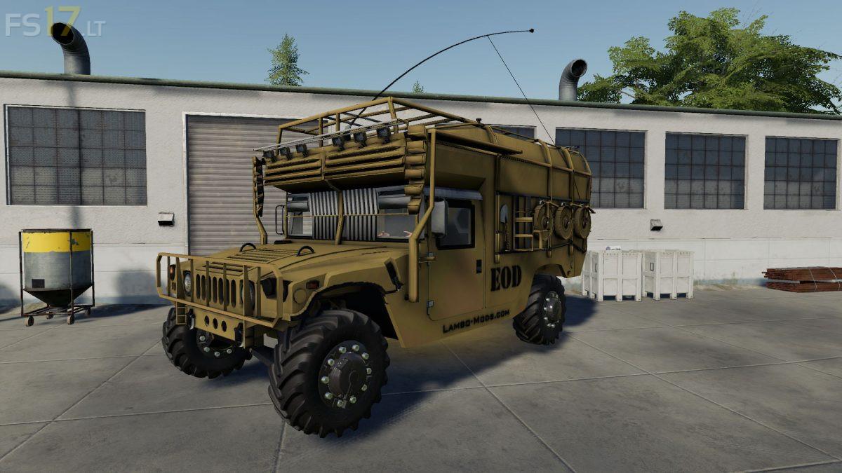Humvee Army v 1 0 - FS19 mods