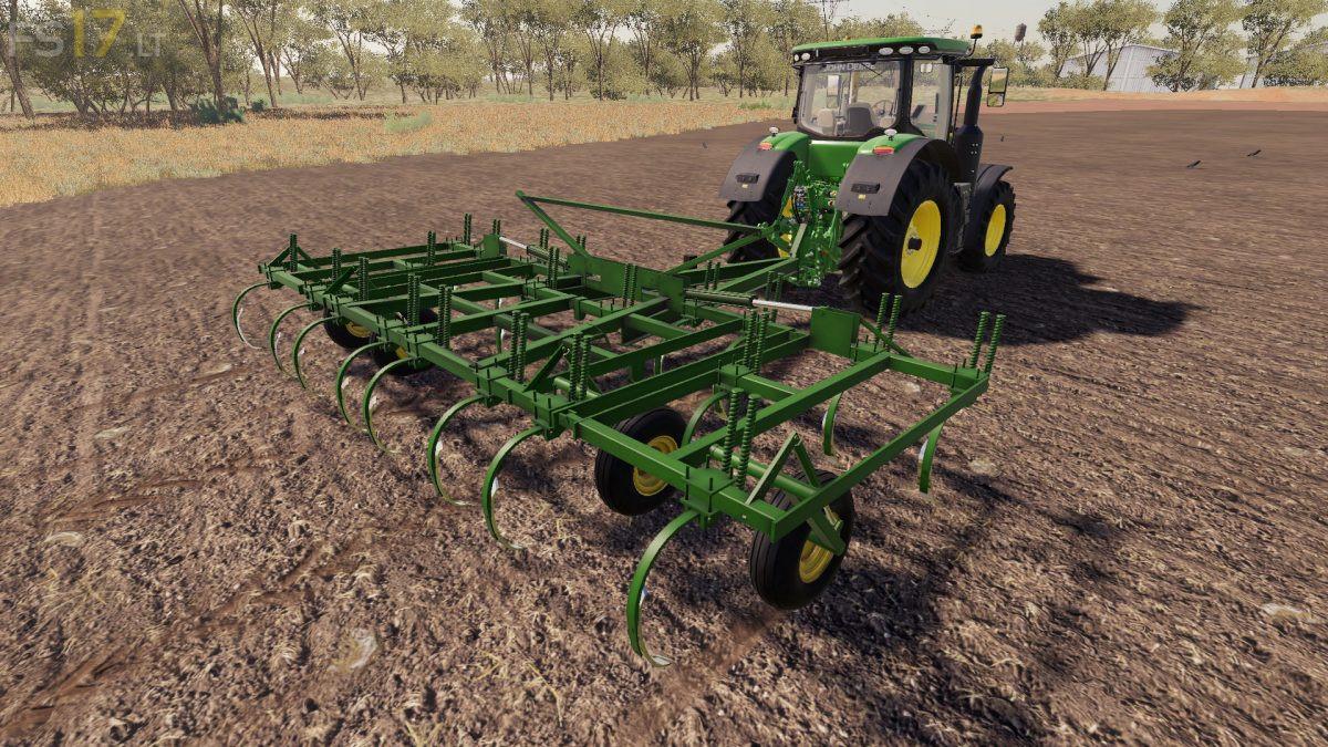 John Deere Chisel Plow V 1 0 Fs19 Mods