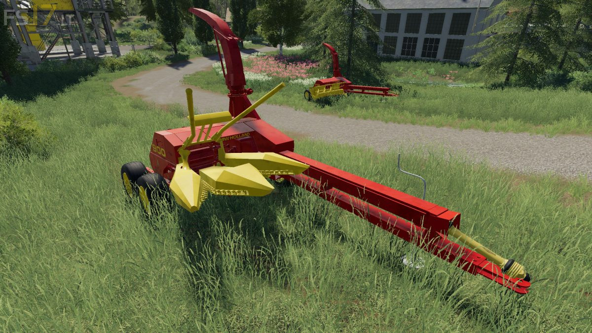 New Holland 900 Forage Harvester & Headers v 1 0 - FS19 mods