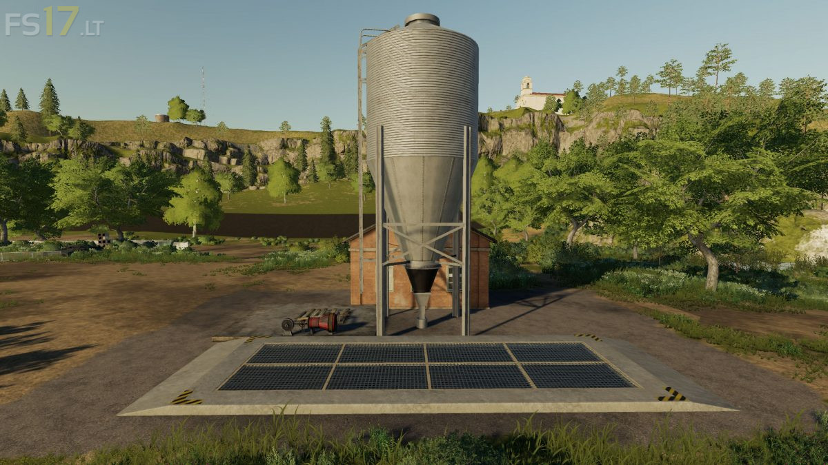Placeable Sell Point v 1 5 150 - FS19 mods