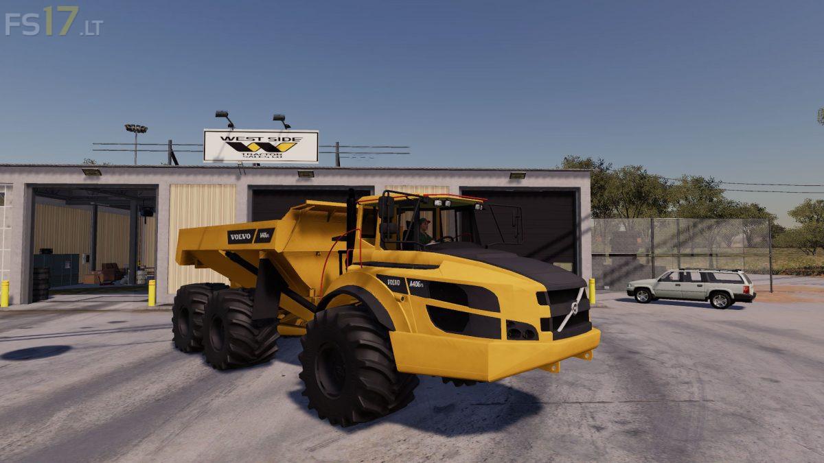 Volvo A40 v 1.0 - FS19 mods