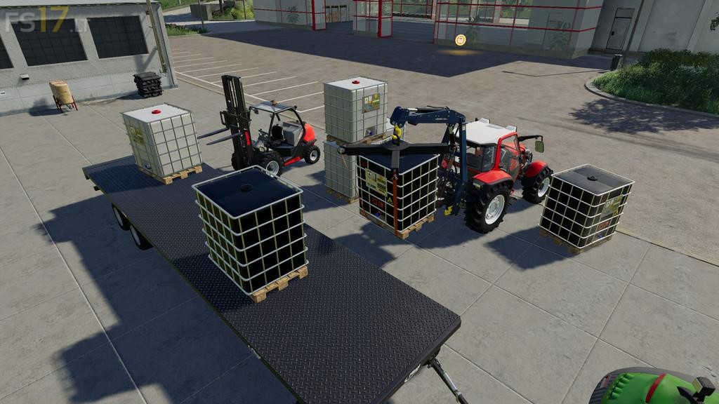 Bag Lifter Pack v 1 0 - FS19 mods