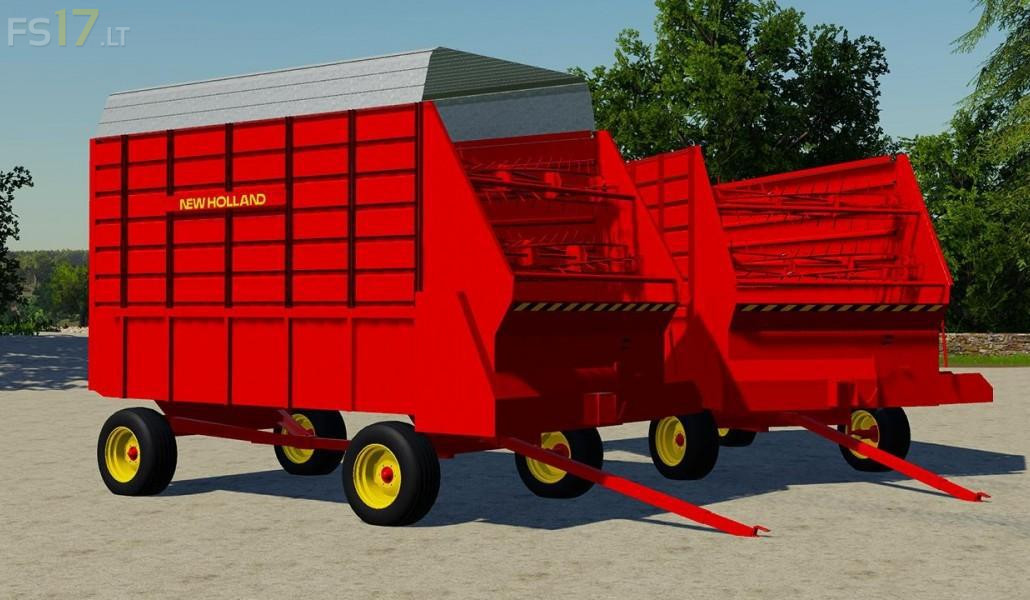 New Holland 716 Forage Box v 1 0 - FS19 mods