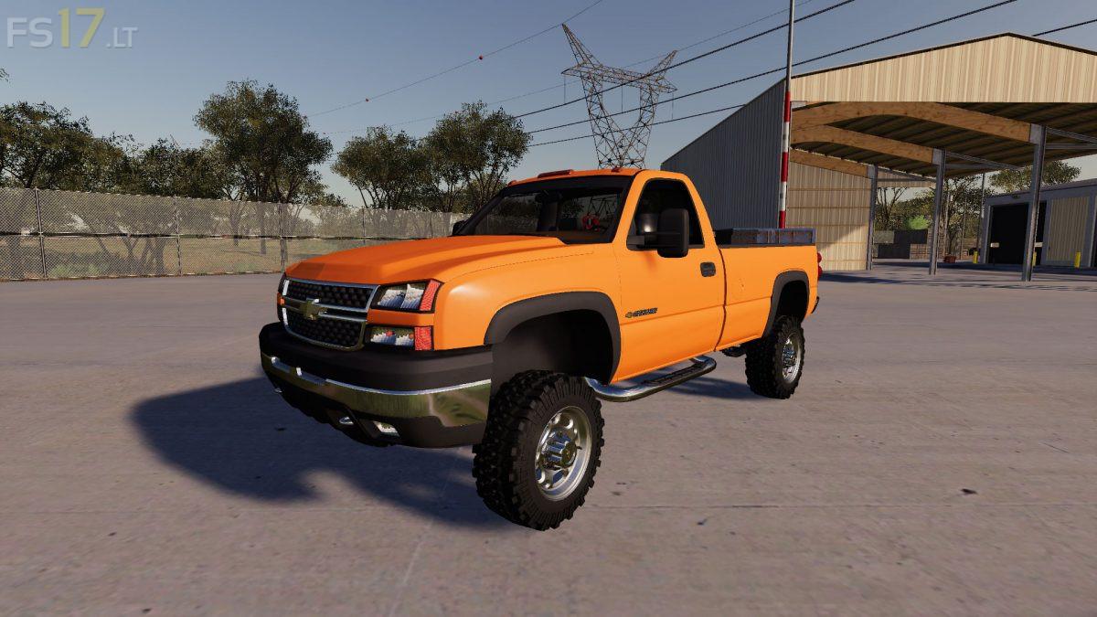 Gmc 2500Hd Wheels >> 2006 Chevy 2500 HD v 1.0 - FS19 mods