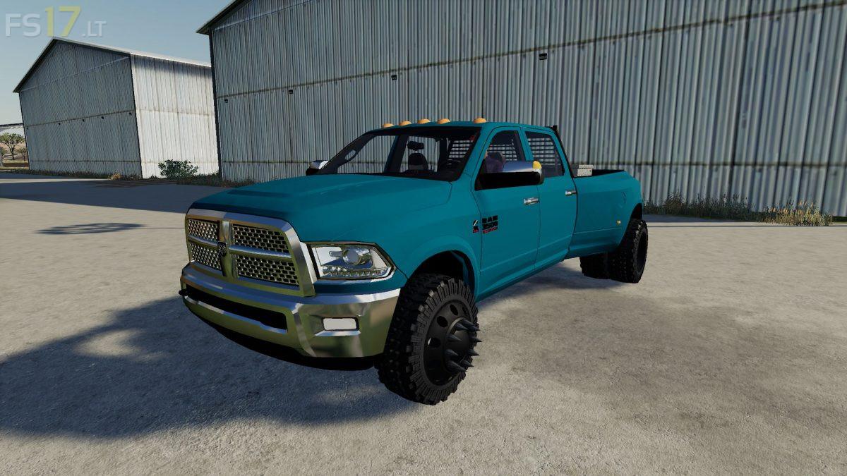 Dodge Ram Mod For Fs19   2019 Trucks
