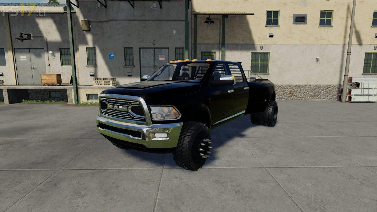 Dodge Ram 3500 Cummins v 1.0 - FS19 mods