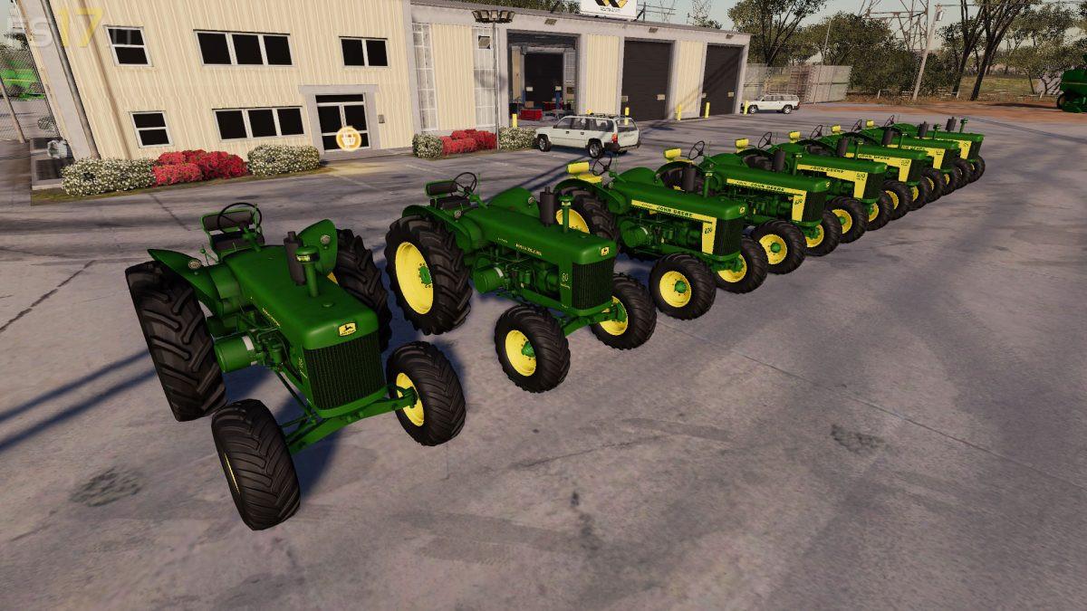 John Deere 80 Series Old Tractors Pack v 1 0 - FS19 mods