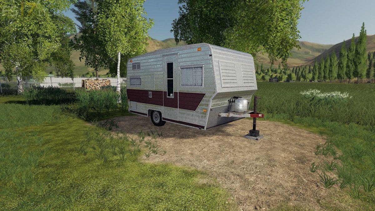 Placeable Camper v 1 0 - FS19 mods