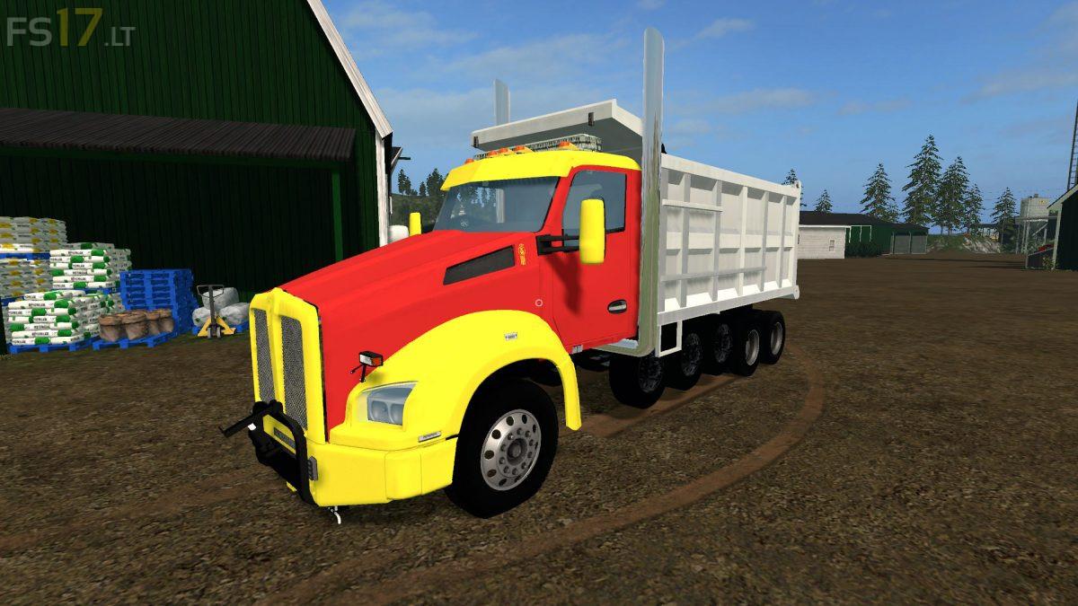 Kenworth T880 Dump v 1.0 - FS19 modsKenworth Dump Trucks Fs19