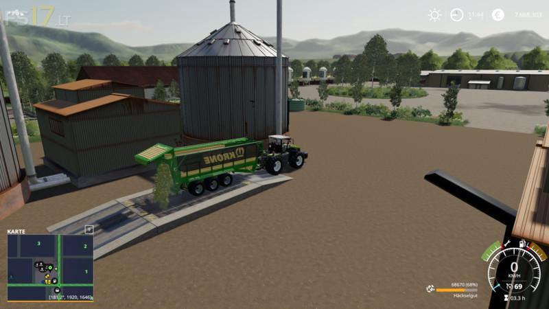 Silage Production v 1 0 - FS19 mods