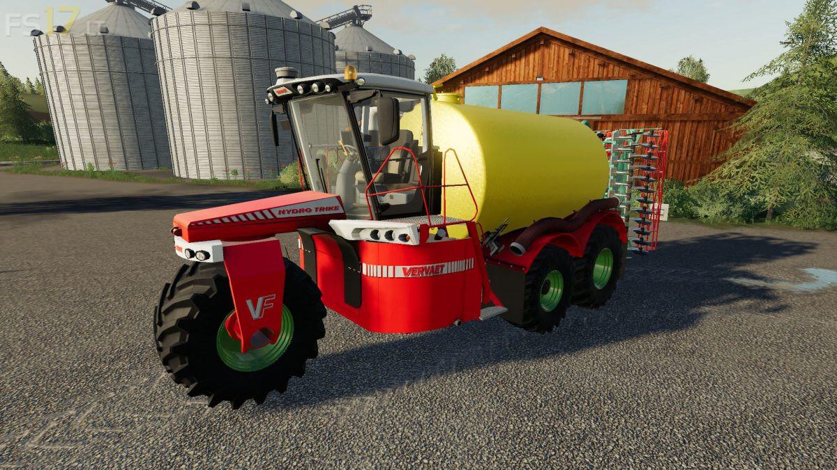 Vervaet Hydro Trike Pack v 1 0 - FS19 mods