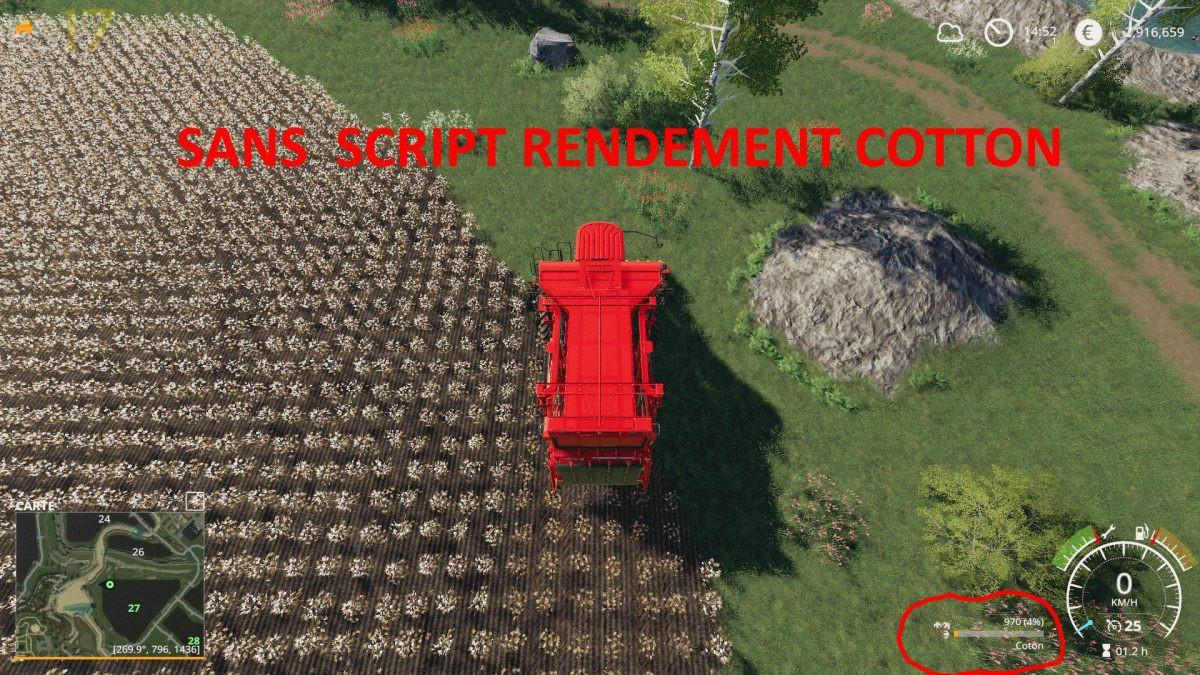 Redement Cotton v 1 0 - FS19 mods