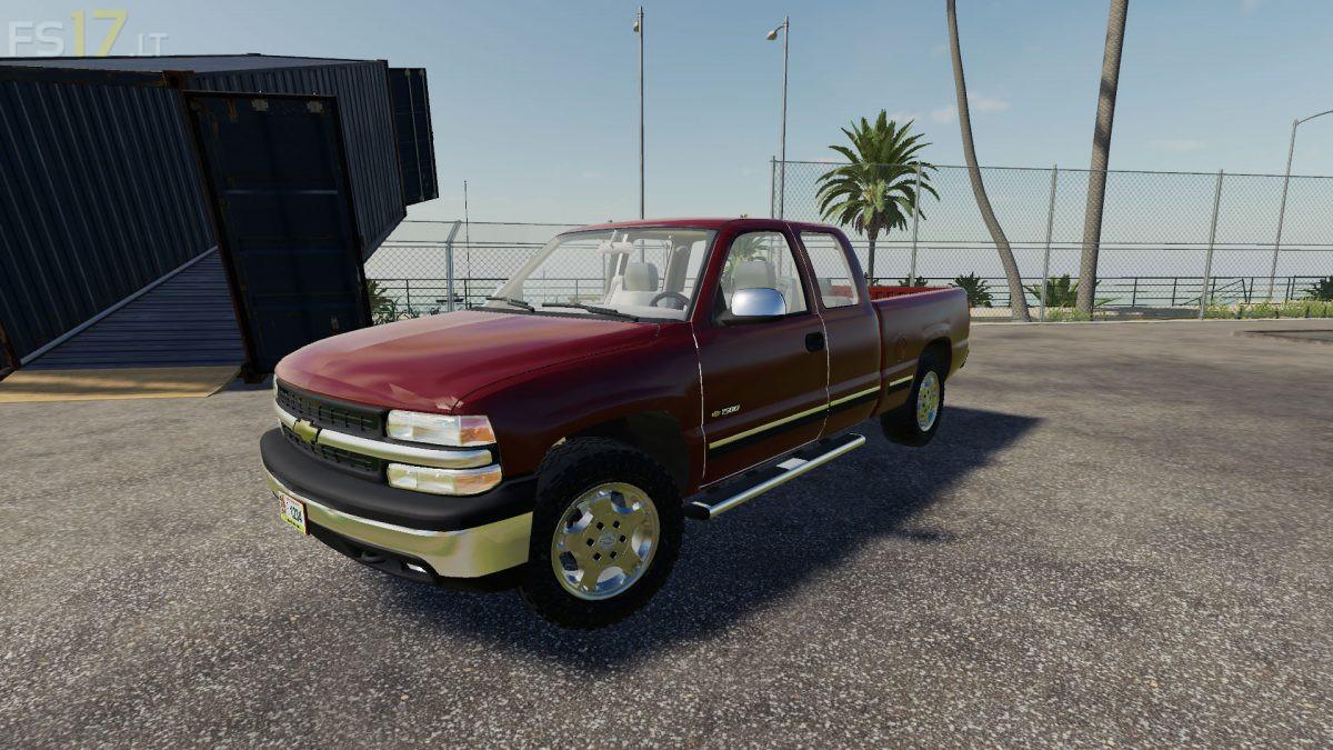 1999 Chevy Silverado 1500 v 1.0 - FS19 mods