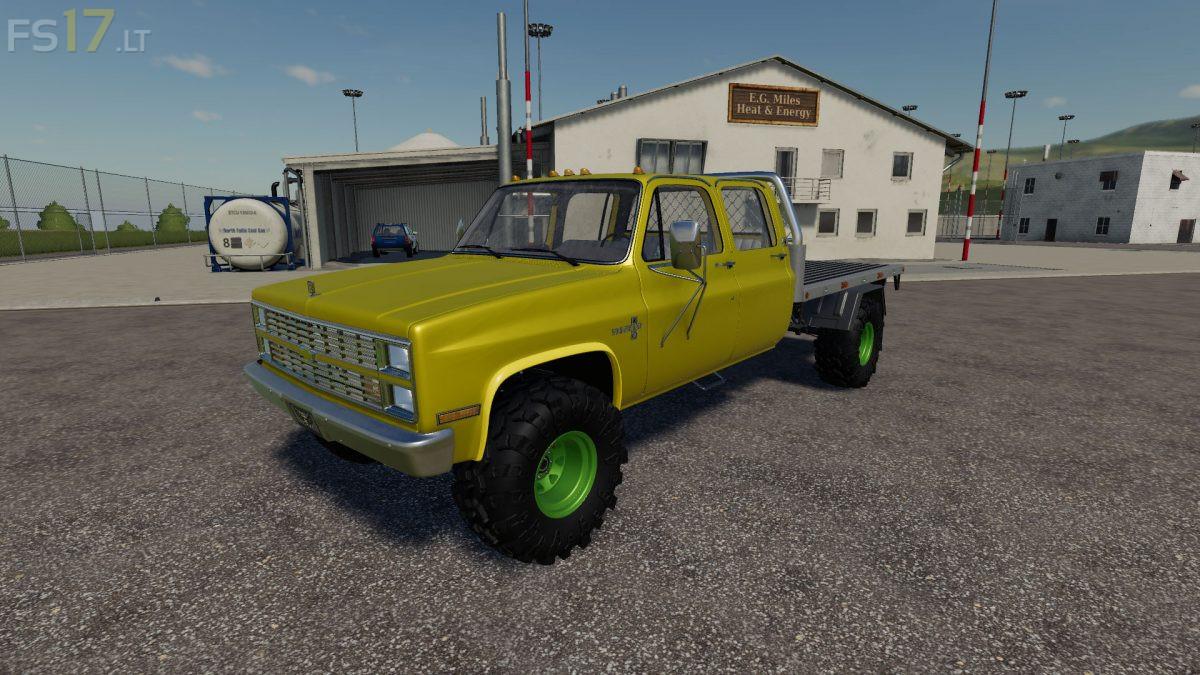 Chevy K30 Dually v 1.0 - FS19 mods